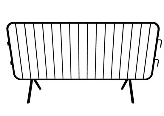Steel barricade used for events, festivals, and concerts