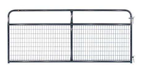 Galvanized Mesh Gate, 8 ft. L x 50 in. H