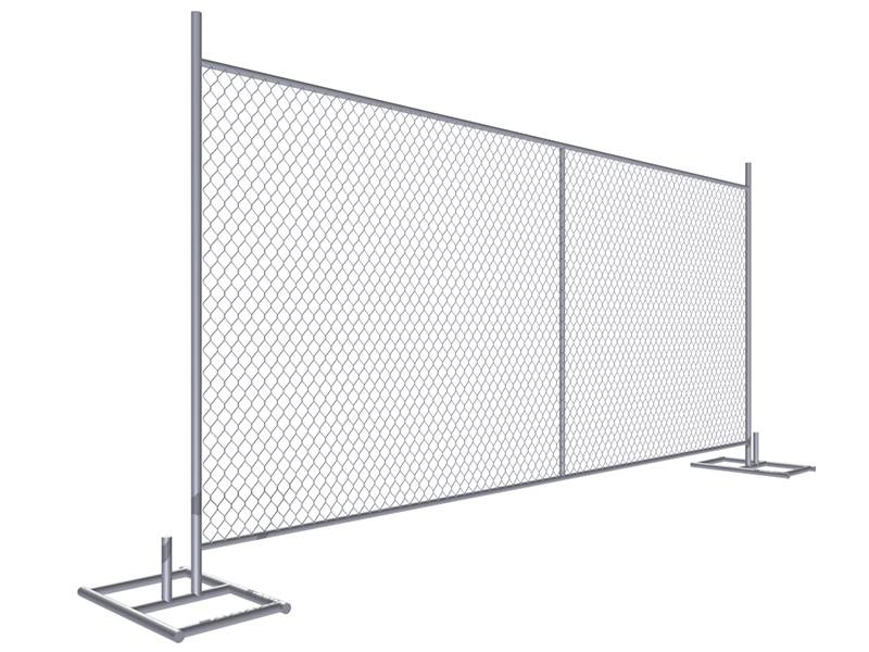 2 Types of Temporary Chain Link Fence Base
