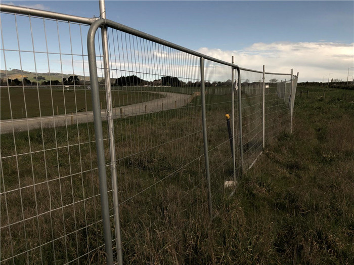 Temporary Fencing-you get what you pay for