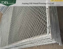 Temporary Construction Chain Link Fence/Decorative Chain Link Wire Mesh