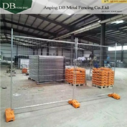 Construction Site Temporary Construction Fencing Panels OD32mm 2100 x 2400mm