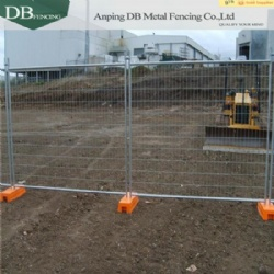 Hot Dipped Galvanised Temporary Fencing Panels 32mm tube wall thick 2.0mm Infilled Mesh 4.0 x 60 x 150mm