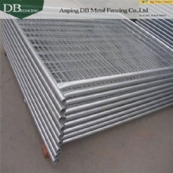 High Zinc Coated 42 microns Temporary Fencing Panels For Australia and NZ market  32mm tube wall thick 2.0mm Infilled Mesh 4.0 x 60 x 150mm
