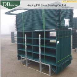Galvanized and Powder Coated Corrals Panels 10 ft. (L) x 5 ft. (H) 13/4 tubing OD 6 bars