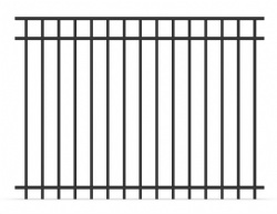 Steel Picket Fence, Ornamental Security Fencing