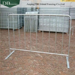 Interlocking Steel Barrier For Crowd Control - China Supplier